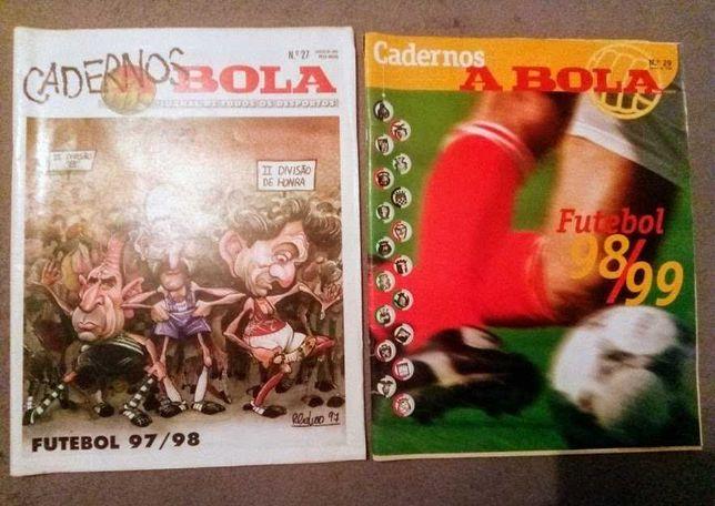 Revistas Cadernos A bola anos 90