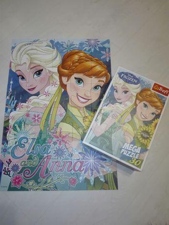 Puzzle Trefl Disneya  Mega Frozen Elsa Kraina Lodu jak Nowe