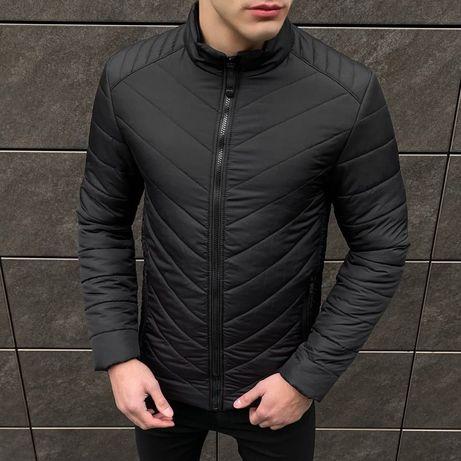 БЕСПЛАТНО доставка!мужская теплая черная куртка бомбер осень