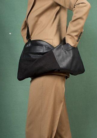 Дизайнерская кожаная сумка от Eva Blut