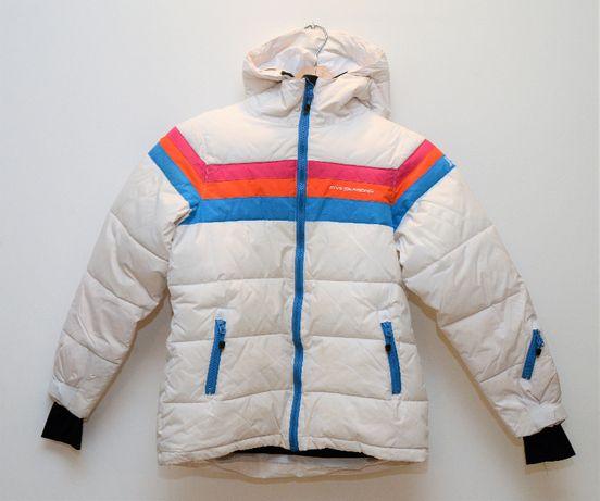 Dziewczęca kurtka narciarska Five Seasons plus spodnie 4F gratis