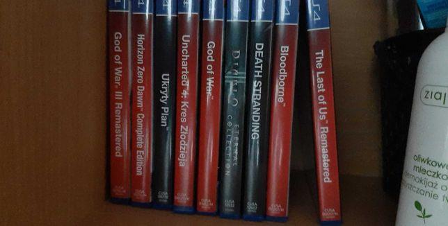 Gry PS4 Sprzedam, zamienię