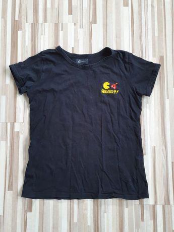 Czarna koszulka Reserved S