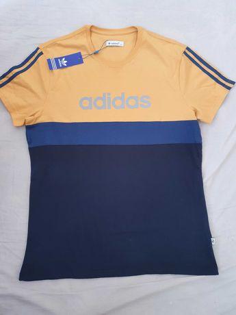 NOWA koszulka Adidas XL t-shirt sportowy piękny nowy model i kolory