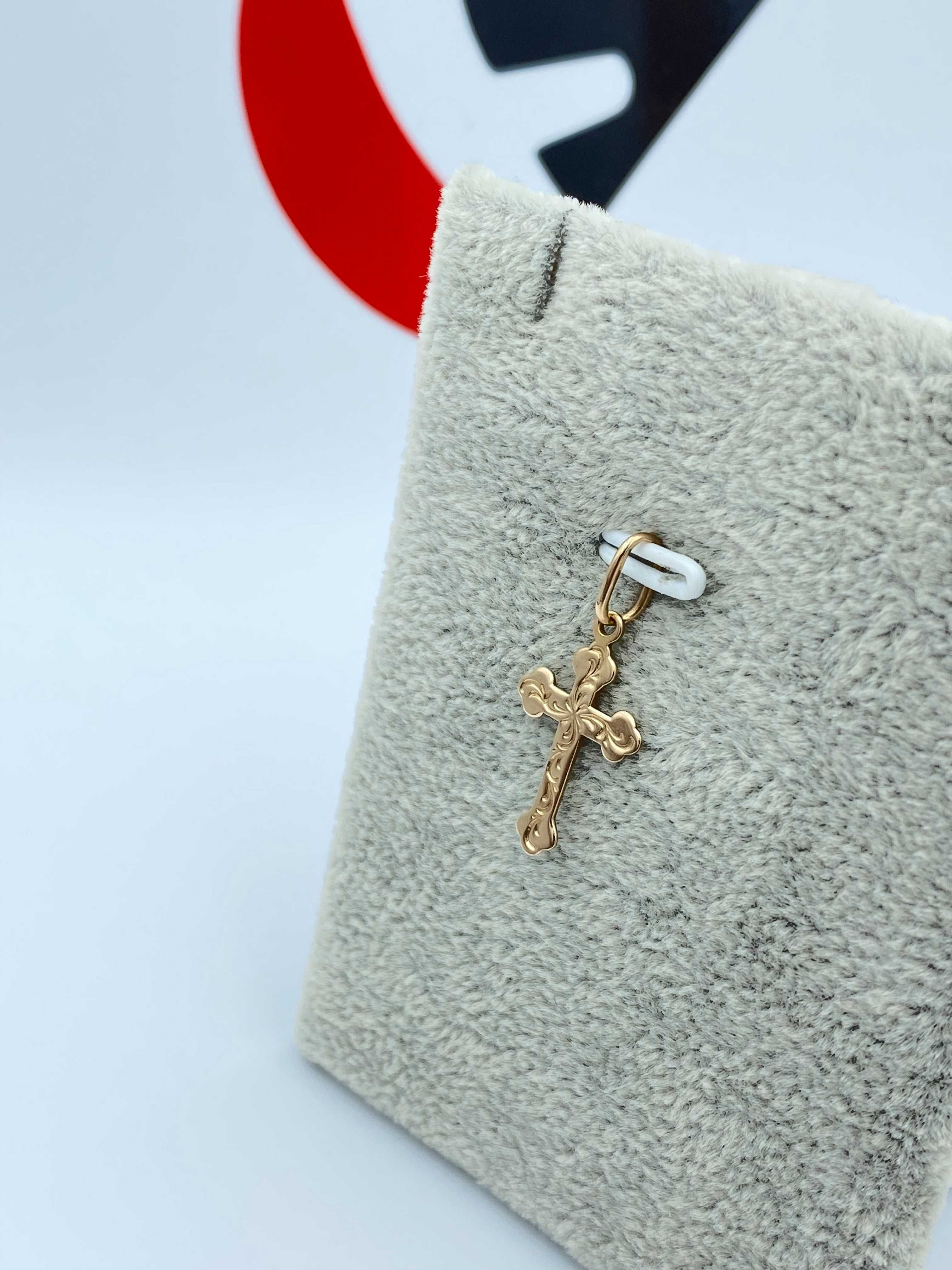 Złoty Krzyżyk 14k