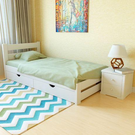 Ліжко з масиву деревини «Моно» + ДОСТАВКА БЕЗКОШТОВНА