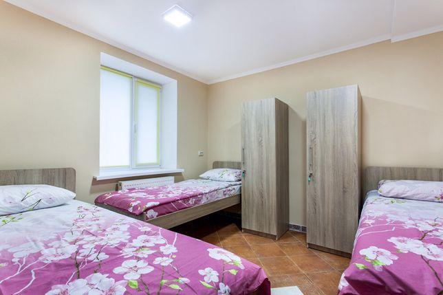 ОДНОЯРУСНЫЕ кровати,КОНДИЦИОНЕР,Хостел Киев м. Бориспольская