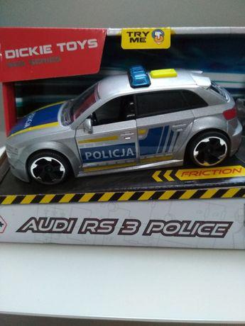 Zabawka samochód policyjny audi rs3 Dickie Toys