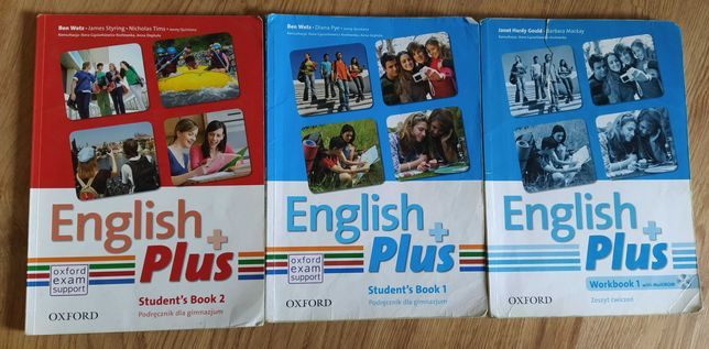 English Plus 1, 2 Student's Book.. Diana Pye.. język angielski