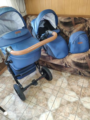 Продам Польскую коляску фирмы Broco Capri  2в1. В хорошем состоянии