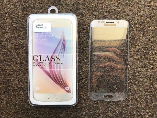 Película de vidro temperado curva para Samsung S6 Edge / S6 Edge Plus