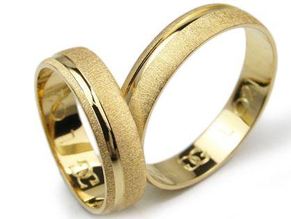 Obrączki złote od GOLDRUN