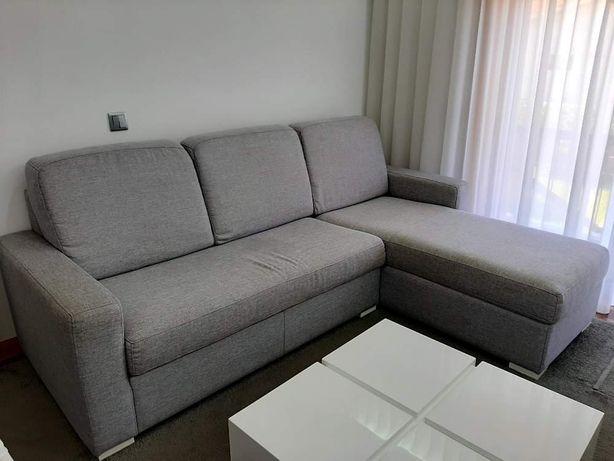 Sofá 3 lugares com chaise long