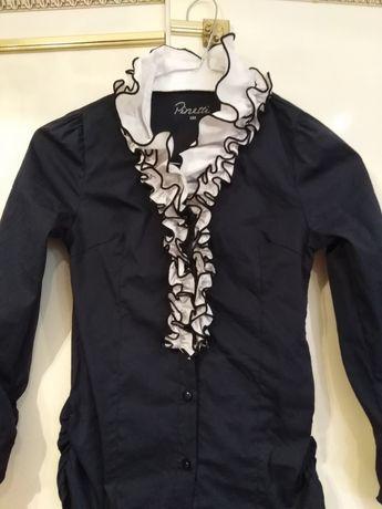 Продам шикарную блузку для девочки школьницы Pinetti Италия, 122-128