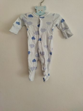Babygrow nuvens azuis