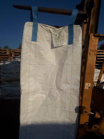 Mocne worki Big-bag bigbag begy na gruz granulat zboże odpady detal