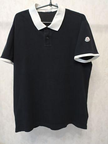 Поло футболка Moncler