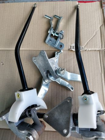Рычаг переключения . передач КПП (механизм,кулиса) УАЗ-452 в сборе