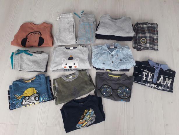 Zestaw ubrań chłopiec Zara, NEXT coccodrillo H&M r.98