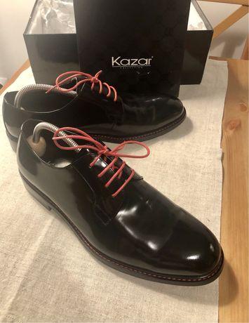 Buty lakierowane marki kazar