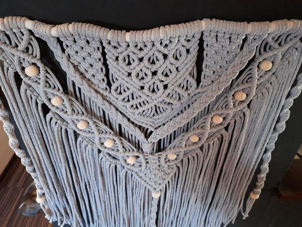Makrama, dekoracja ścienna,sznurek