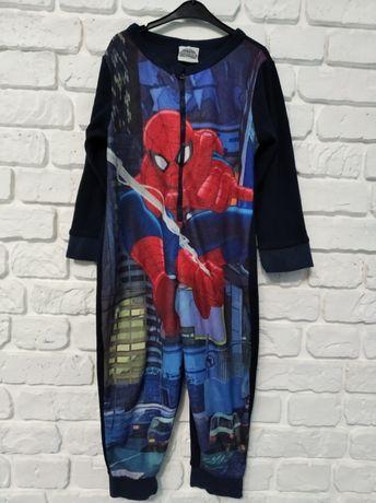 Человечек Spiderman слип ромпер пижама флис піжама фліс 92-98