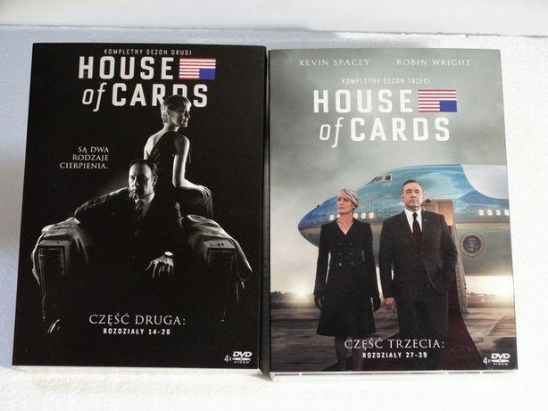 House of Cards część druga i trzecia film DVD