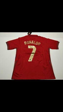 Portugal Camisolas Calções Fatos Treino Kits Criança Ronaldo E Normal