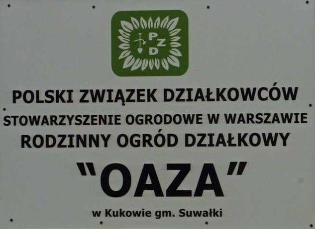 """Działka ogrodowa ROD """" OAZA"""" Kuków"""