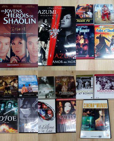 Dvd Filmes cinema séries asiático