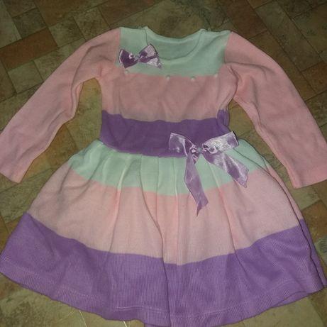 Красивое нарядное платье  1,5 - 3 года