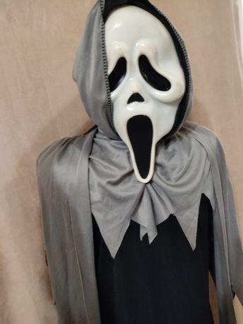 Костюм 4-6 лет с маской  карнавальный Хэллоуин Хеллоуин крик маска