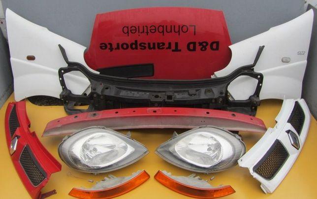 Решетка, крыло, капот, фара Renault Trafic Opel Vivaro II Виваро 01-14