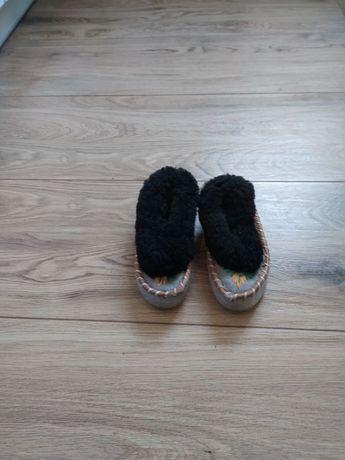 Buty papcie góralskie ciepłe