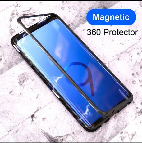 Capa Magnética Samsung S8 plus/S9/Note 9/Huawei P20/P20 lite/iphones