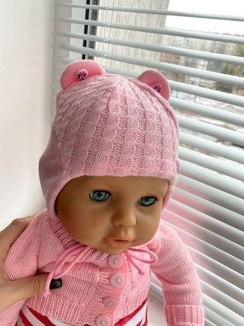 Детские шапочки для маленьких