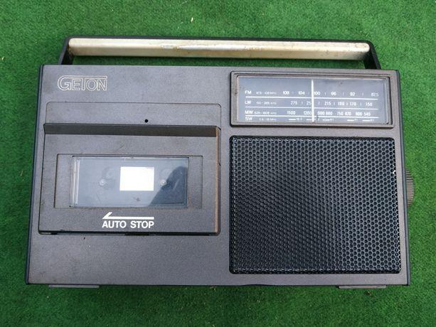 Radiomagnetofon Geton