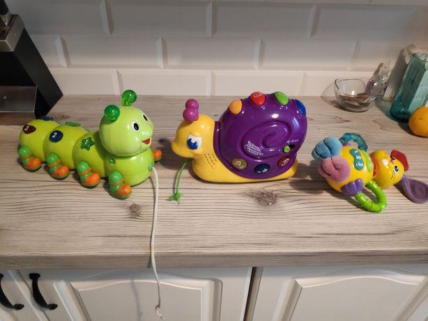 3 zabawki sprawne