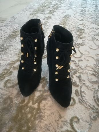 Nando Muzi ботинки на каблуке оригинал Италия