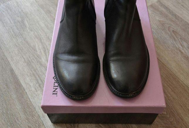 Кожаные ботинки Карло Пазолини полусапожки