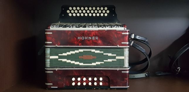 Concertina Hohner 3 voz