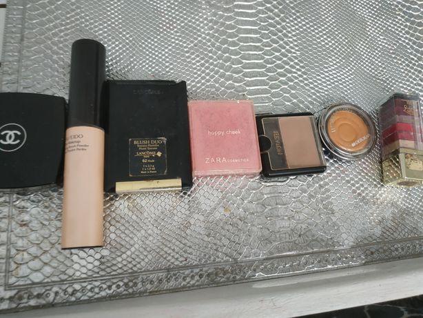 Shisedo, Chanel, Lancome zestaw kosmetyków