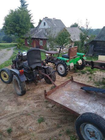 traktorki zestawy sprzedam