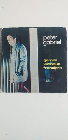 Peter Gabriel Games Without Frontiers Vinil Single