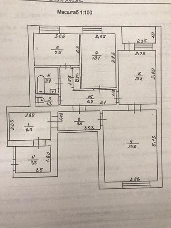 3х комнатная квартира Купянск