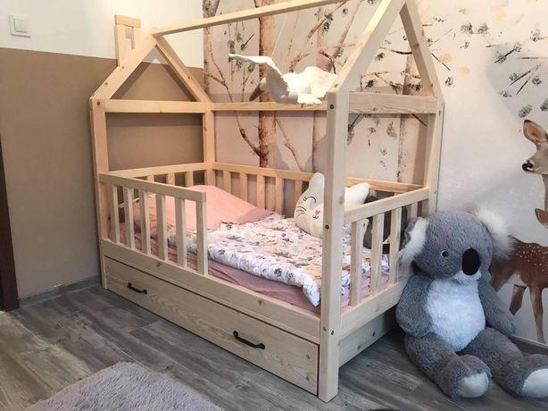 Łóżko domek DOWÓZ ! drewniane drewniany dziecięce dzieci