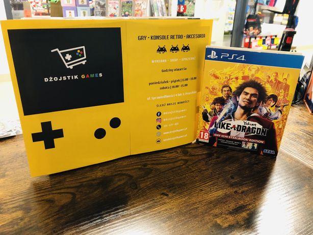 Yakuza Like a Dragon Ps4 ( Możliwa Wymiana ) Dżojstik Games