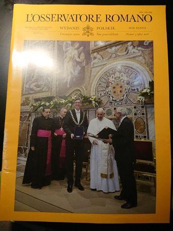 L'Osservatore Romano numer 5 / 2016
