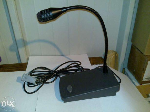 microfone paso b701-m312 (com pé/base) para secretária
