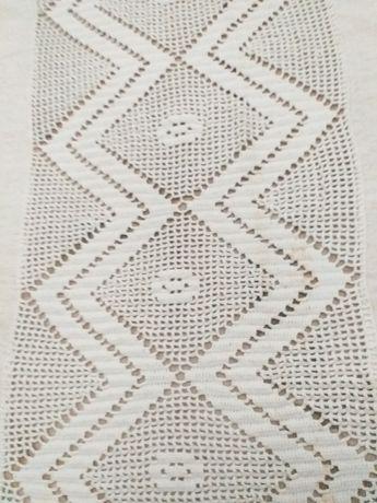 Colcha cama linhó e crochet
